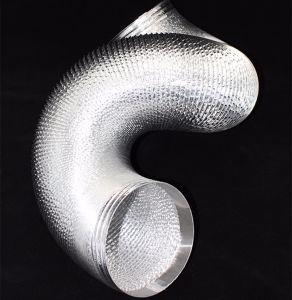 Hot Meilleur design résistant au feu ignifugation) Gaine souple en aluminium
