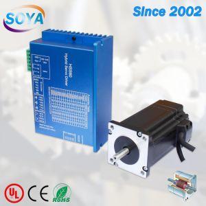 NEMA 23 1.4NM IP65 Motor paso a paso de bucle cerrado con un conductor promoción y la caja de engranajes