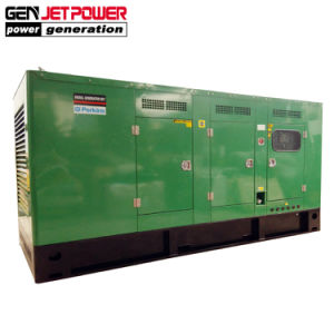 Питание Elerctric дизельного генератора 80квт 100 ква звуконепроницаемых дизельный генератор с двигателями Perkins