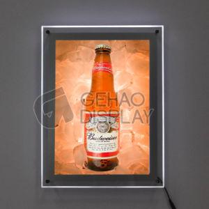 La Chine Publicité Affichage LED LED Super Slim Light Frame