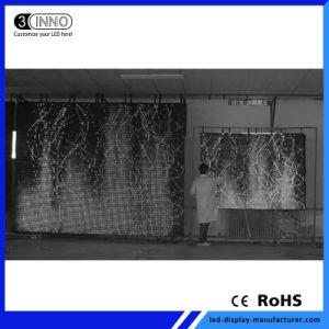 P100mmのハイコントラストの比率フルカラーSMD適用範囲が広いLEDのカーテンの表示