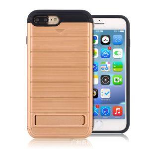 De schokbestendige Dekking van de Portefeuille van de Kaart van het Geval voor iPhone 7