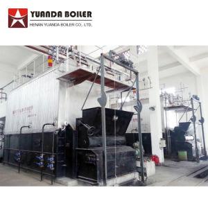 Tube de l'eau de tambour double chaudière à vapeur au charbon prix de 20 tonnes