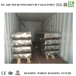 China stellte gewölbte Metallfliese für Construstion her
