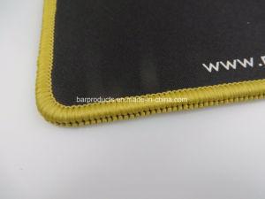Forma Retangular Mouse pad de borracha personalizada para Dom