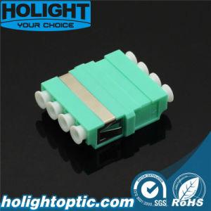 Vierling Om3 Aqua van de Adapter LC van de Schakelaar van de vezel de Optische zonder Flens