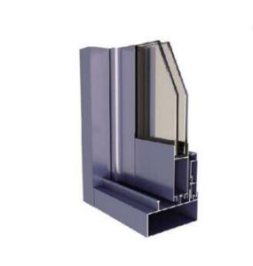 Pista di alluminio della finestra di scivolamento/profili di alluminio dell'espulsione per Windows ed i portelli