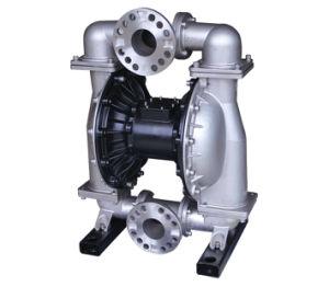 하수 처리 3 인치 스테인리스 압축 공기를 넣은 공기에 의하여 운영하는 격막 펌프