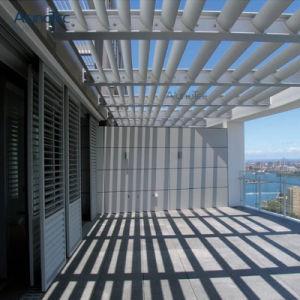 Strong алюминиевых фиксированные жалюзи Sun затенения тент