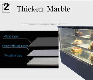 Plancher Affichage vitrine à gâteaux permanent congélateur vitrine de pain