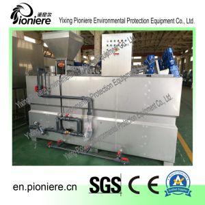 Volledig Mengt Automatische het Uitdelen van het Polymeer Machine voor Behandeling van afvalwater