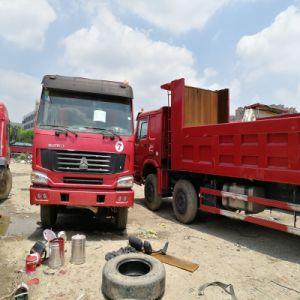 La marca HOWO 8*4 12 della Cina spinge 40 tonnellate di camion resistente di capienza