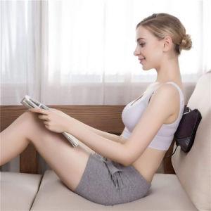 Cómoda nueva llegada PU almohada de masaje de cuello cojín Volver