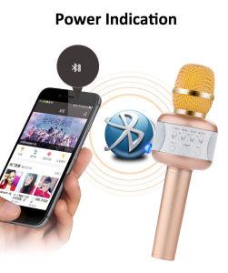 Microphone Karaoke ordinateur de poche sans fil Blue tooth le président pour téléphone mobile en charge tous les périphériques USB