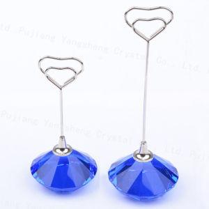 공장 가격 기념품 또는 사업 선물 다이아몬드 모양 수정같은 유명한 카드 홀더