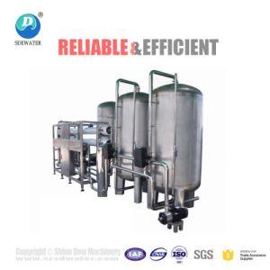 Approuvé ISO 1000L/H RO Système de filtre à eau