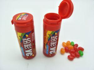 Soem-bunte Gefäß-Verpackungs-Gelee-Bohnen-Süßigkeit