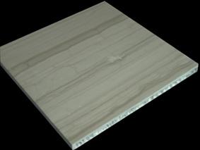Le marbre ou granit panneau alvéolaire en aluminium composite