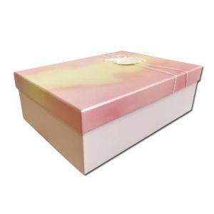 호화스러운 정연한 마분지 포장 상자 뚜껑을%s 가진 Handmade 접히는 서류상 선물 상자를 주문 설계하십시오