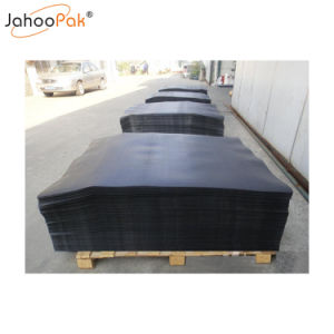 Paletes de plástico resistente a folha de deslizamento para transporte de carga