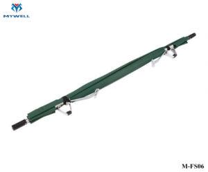 M-FS06 Medical dobrável de alumínio de Campismo 2 Dobre maca