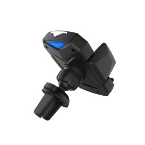 Держатель телефона автомобильное зарядное устройство беспроводной связи для мобильных ПК Mount IR автоматически открывать
