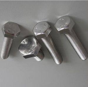4,8 8,8 Grade Vis et écrou de fixation du boulon de carrosserie de structure en acier