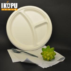 Blanco de la ronda de la placa de pasta de papel grado alimenticio