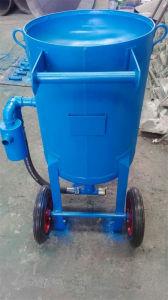 Tipo de carrinho Shot/placa giratória Shot Blaster máquina de jateamento de areia