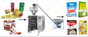 Lleno de leche automática de acero inoxidable/detergente/Especias/detergente en polvo de la máquina de embalaje con CE