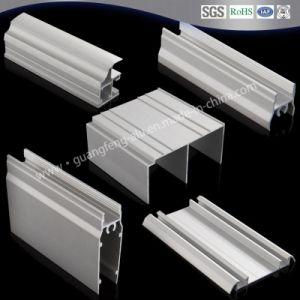 Perfil de extrusión de aluminio para puertas y ventanas de aluminio anodizado con color