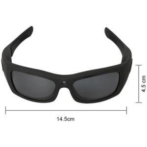 Sport-Form-Kopfhörer Bluetooth MP3 Sonnenbrillen mit Splintloch-Videokamera-Schreiber