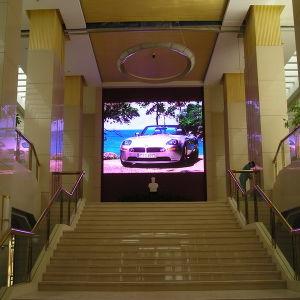 A todo color de vídeo Pantalla LED para interiores para guía de compra