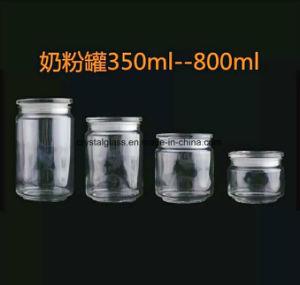 De Kruik 350/500/800/1000ml van de Bus van de Opslag van het glas
