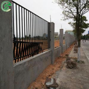 Tubular con recubrimiento de polvo de la Guarnición de seguridad cerco fuerte para la construcción oficial