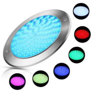 Indicatori luminosi subacquei del raggruppamento di modo di controllo esterno di RGB RF201 di spessore di IP68 8mm LED