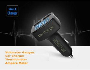 Быстро два порта USB зарядное устройство для радиотелефона, Напряжение монитора дозатора