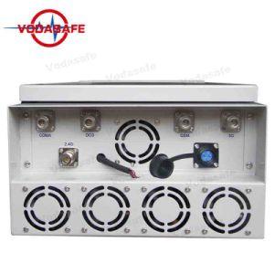 Sistemas de Defesa Anti Uav, Uav Drone /Jammer/Bloqueador, Sistema de Bloqueio de prisão de alta potência, telefone celular Jammer, Sinal de interferência, 2/3/4G Cellphone/WI2.4G/Bluetooth