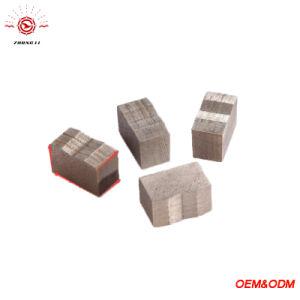 Blocchetto del granito e del marmo di taglio di segmento del diamante, per la singola lamierina & a coltelli multipli