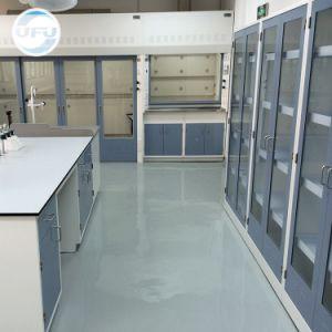 学校化学実験室の完全な鋼鉄試薬のキャビネット