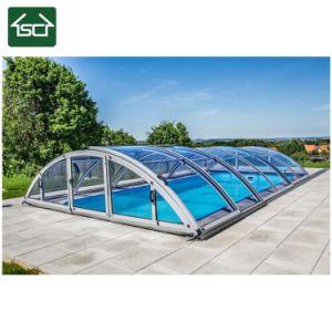 la mejor piscina policarbonato techo retráctil / estructura de