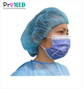 3ply非編まれた医学のマスク