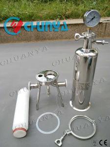 Roestvrij staal 316 Enige Filters van de Patroon voor de Behandeling van het Water