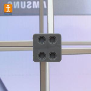 Алюминиевый ткань во всплывающем окне на фоне баннер (tj-03)
