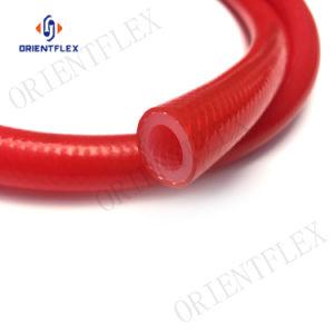 A China a mangueira de silicone reforçado, Tubo de silicone trançado de fibra