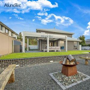 Het globale Aluminium Gazebo van Adjusta van de Agent voor VoorPortiek
