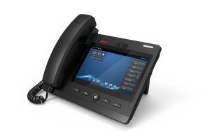 Téléphone SIP Kntech, Téléphone IP à 3 voies Téléphone de conférence vidéo Knpl-600