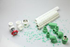 Krachtige Plastic Natuurlijke Gas Pijp op Plastic Staaf