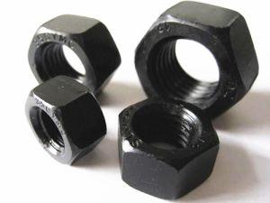 De zwarte Noot van de Hexuitdraai van het Koolstofstaal van de Kleur Met Uitstekende kwaliteit