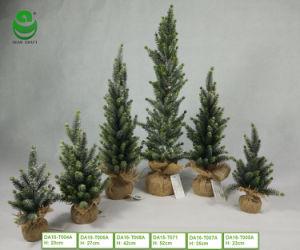 (0.8-1.7) Albero di Natale artificiale del PE di FT per la decorazione - base di legno con canapa